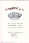 Cab Franc/Cabernet, 2011. Crusted Pie
