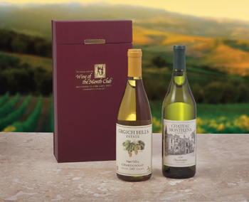 Chardonnay Rivals Gift Basket comes with Free Shipping! by Wine of the Month Club, Inc
