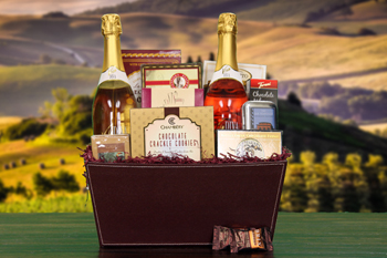 Viva Diva Chocolate Dreams Wine Gift Basket Ships Free! by Wine of the Month Club, Inc