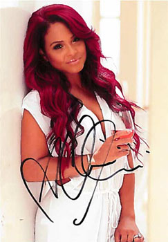 Autographed Photo, Christina Millian