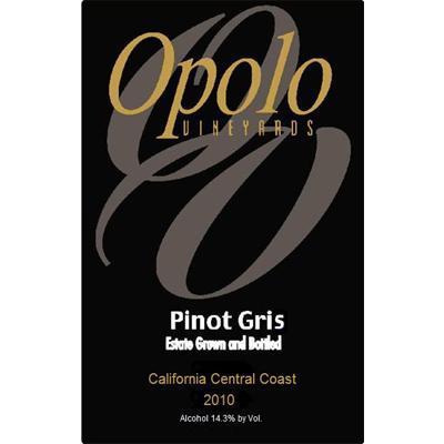Pinot Gris, 2010. Opolo