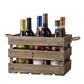 6 Bottle Rustic Crate