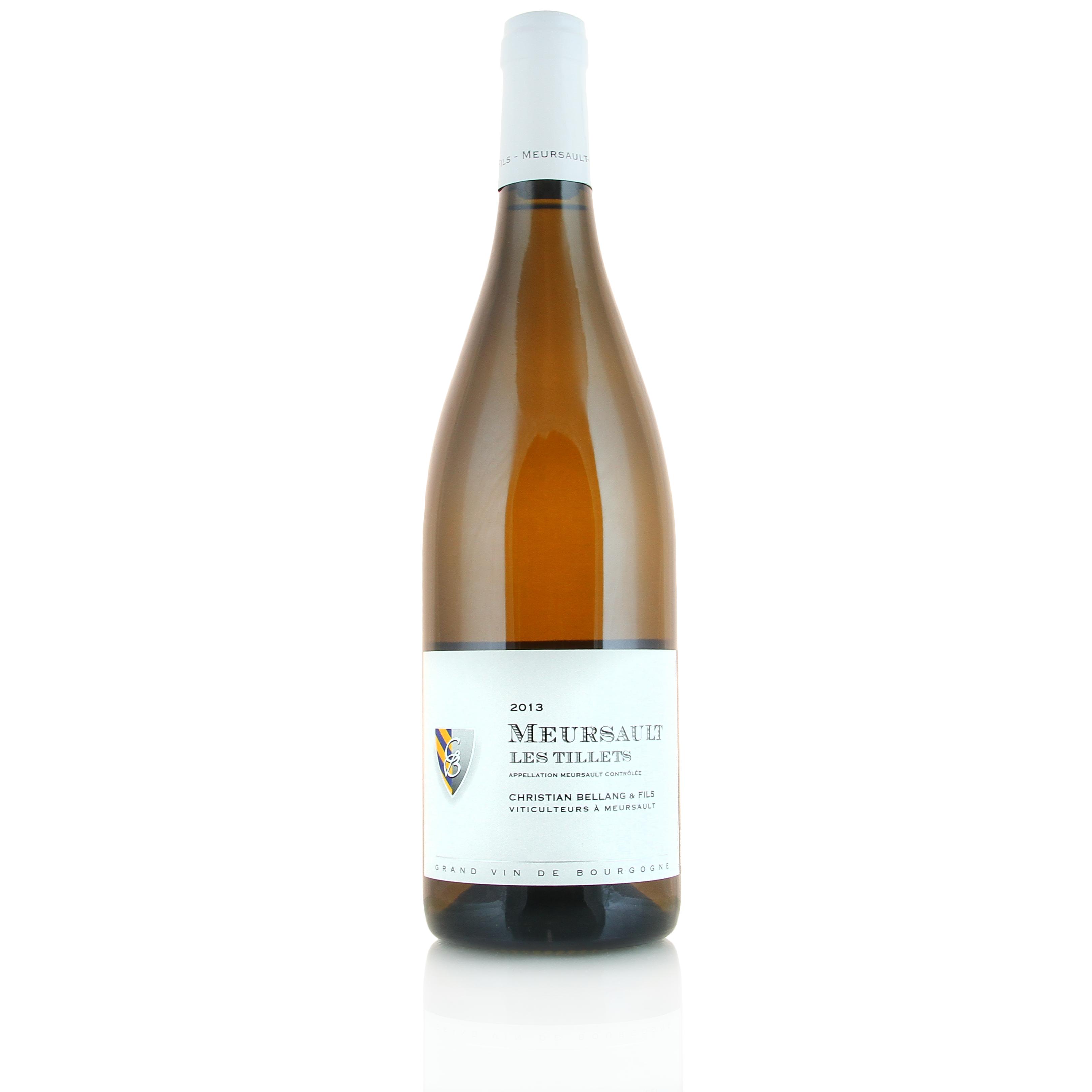 Meursault Les Tillets, 2013. Domaine Christian Bellang & Fils