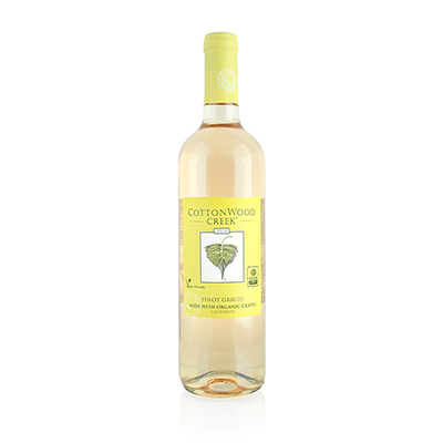 Pinot Grigio, 2016. Cottonwood Creek