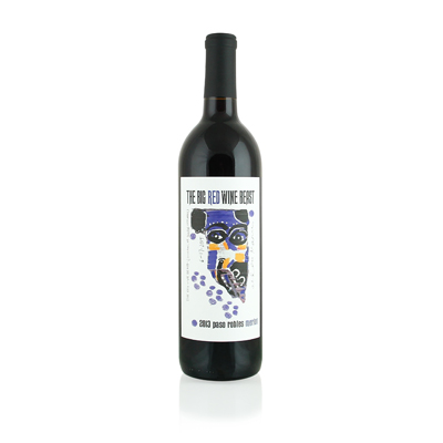 Merlot, 2013. Big Red Wine Beast