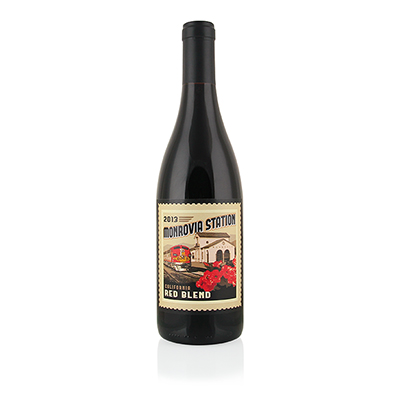 Red Blend, 2013. Monrovia Station