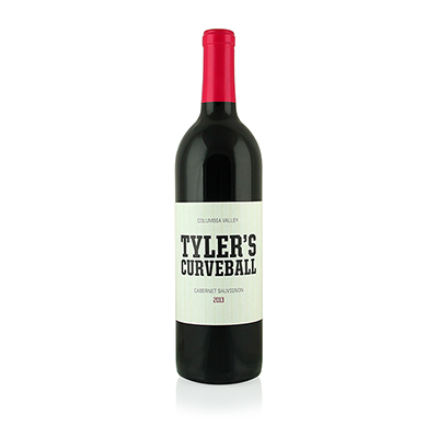 Cabernet Sauvignon, 2013. Tyler's Curveball