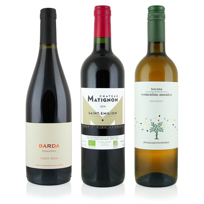 Pure Wine Series Membership (3 Bottles - 2 Red and 1 White) - Every Other Month