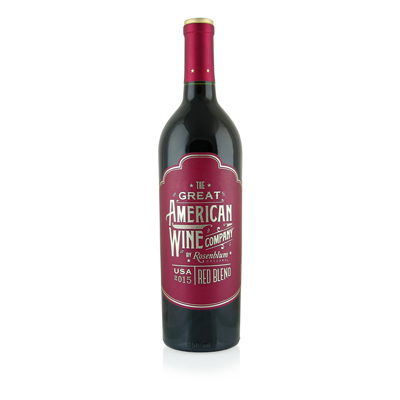 Red Blend, 2015. The Great American Wine Co.