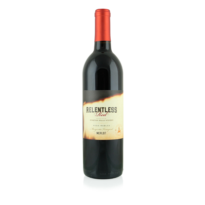 Relentless Red Merlot, 2017. Spartan Hills Winery
