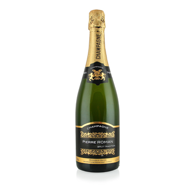 Brut Champagne, NV. Pierre Roman