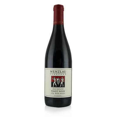 Pinot Noir, 2015. Wenzlau Vineyard