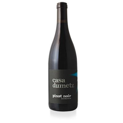 Pinot Noir, 2018. Casa Dumetz