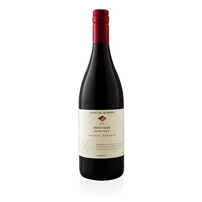 Pinot Noir, 2016. Lattitude 38 Wines