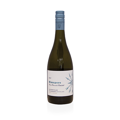 Sauvignon Blanc, 2017. Rimapere