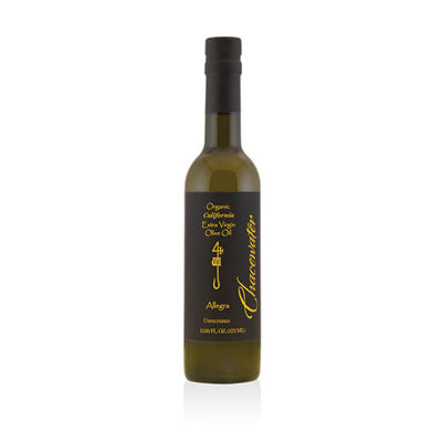 Olive Oil, Chacewater Organic Allegra