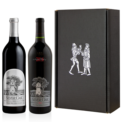 2 Bottle Silver Oak Cabernet Sauvignon Gift Set