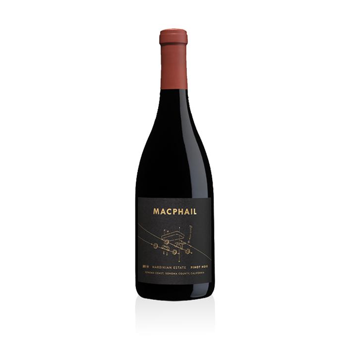Pinot Noir, 2018. Macphail