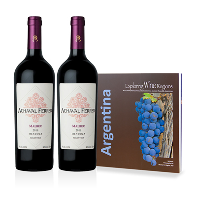 Argentina Wine and Autographed Book Set