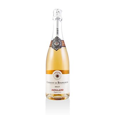 Brut Rose, NV. Moillard Cremant de Bourgogne