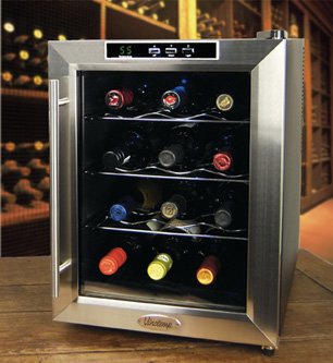 Dual Zone Wine Cooler  Refrigerators - Wine Enthusiast