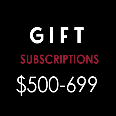 Wine Gifts: $500 to $699