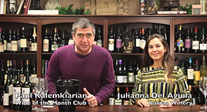 Interview with Julianna Del Aguila of Karras Winery