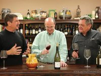 Watch as Ed and Paul taste the December 2011 Vintners Series Wines
