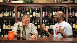 John Salley at Wine of the Month Club