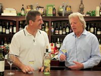 Paul and Melvin Masters talk about the old days and taste through the Tortoise Creek Wines.