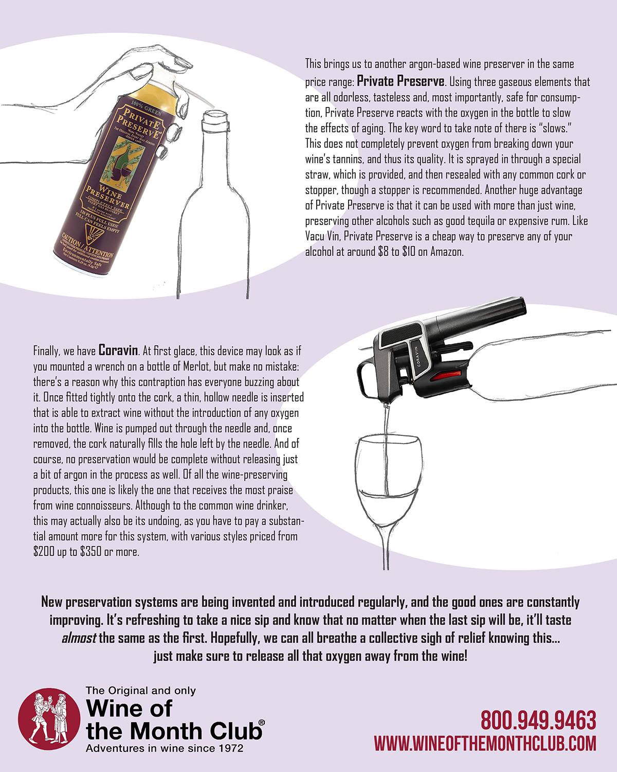 Preserve Your Wine