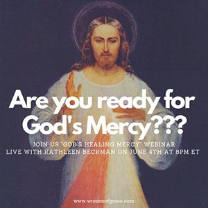 Experience God's Healing MercyKathleen BeckmanJune 4, 20198 PM
