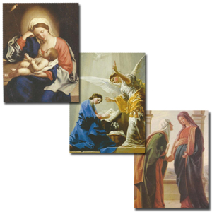 Joyful Mary Moments Note Cards