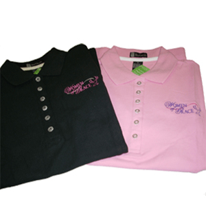 Women of Grace Sport Shirt with Collar and Logo