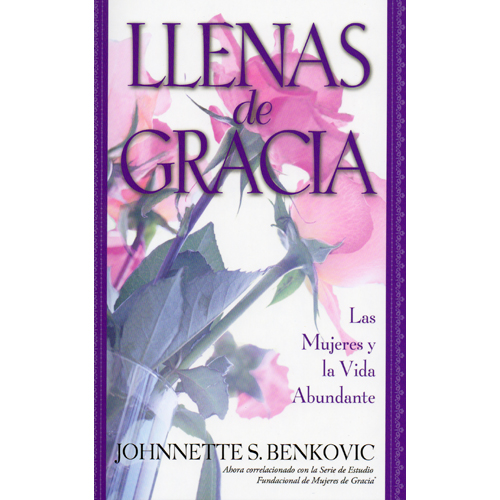 Llenas de Gracia: Las Mujeres y La Vida Abundante   ** This book is presently on back order and will be available  in about 2 weeks.  You can still place your order but be aware of this notice. Hopefully it will be in sooner.