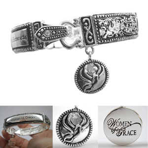 Women of Grace Scripture Bracelet - 