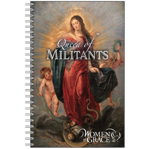 Queen of Militants Notebook - Journal