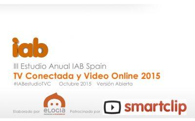 Estudio Anual de TV Conectada y Vídeo Online en España