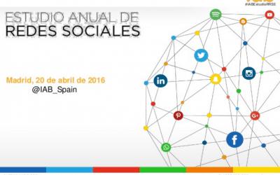 Estudio Anual de Redes Sociales 2016