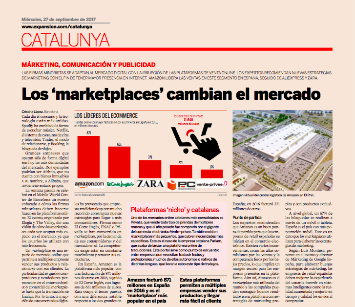 Marketplaces: La conquista de los grandes escaparates digitales