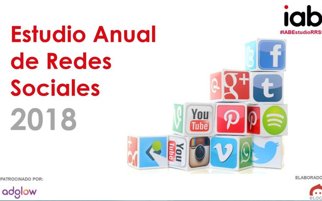 Estudio Redes Sociales IAB 2018