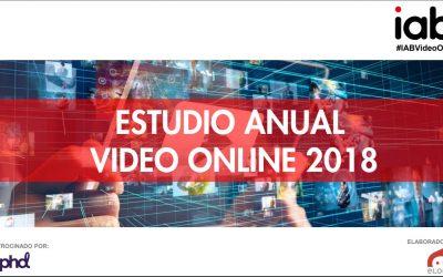 Estudio Anual de Vídeo Online IAB 2018