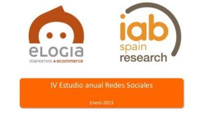 Estudio Anual de Redes Sociales 2013