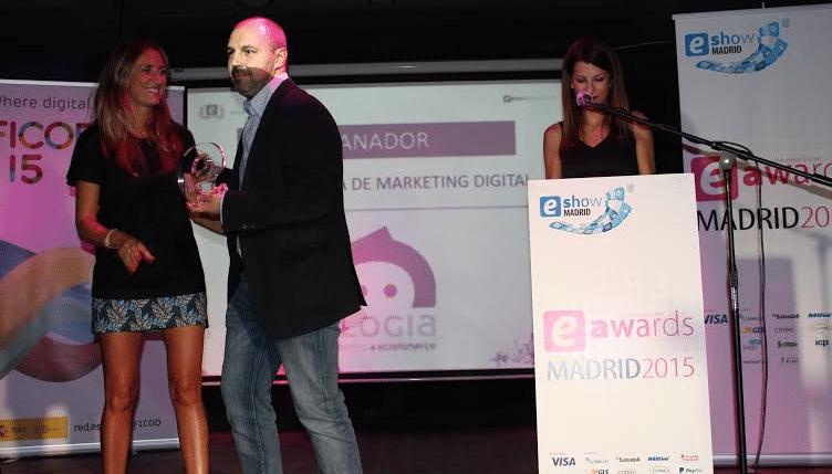 Mejor agencia de Marketing Digital, (eAwards 2015, Spain)