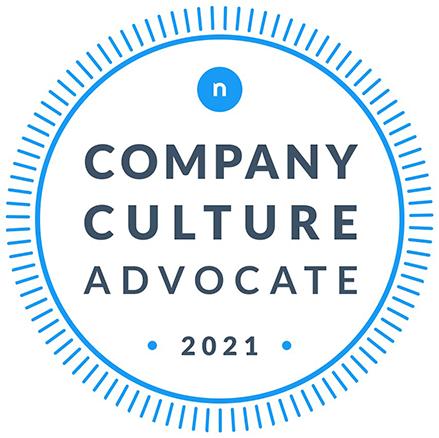 Company Culture Advocate 2021