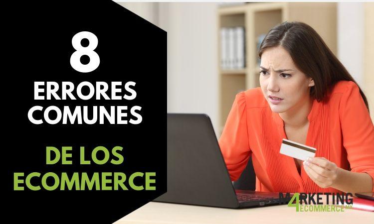 8 errores en eCommerce que cuestan ventas