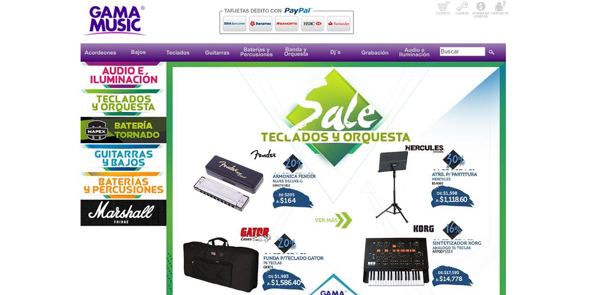Gama Music: opiniones y comentarios