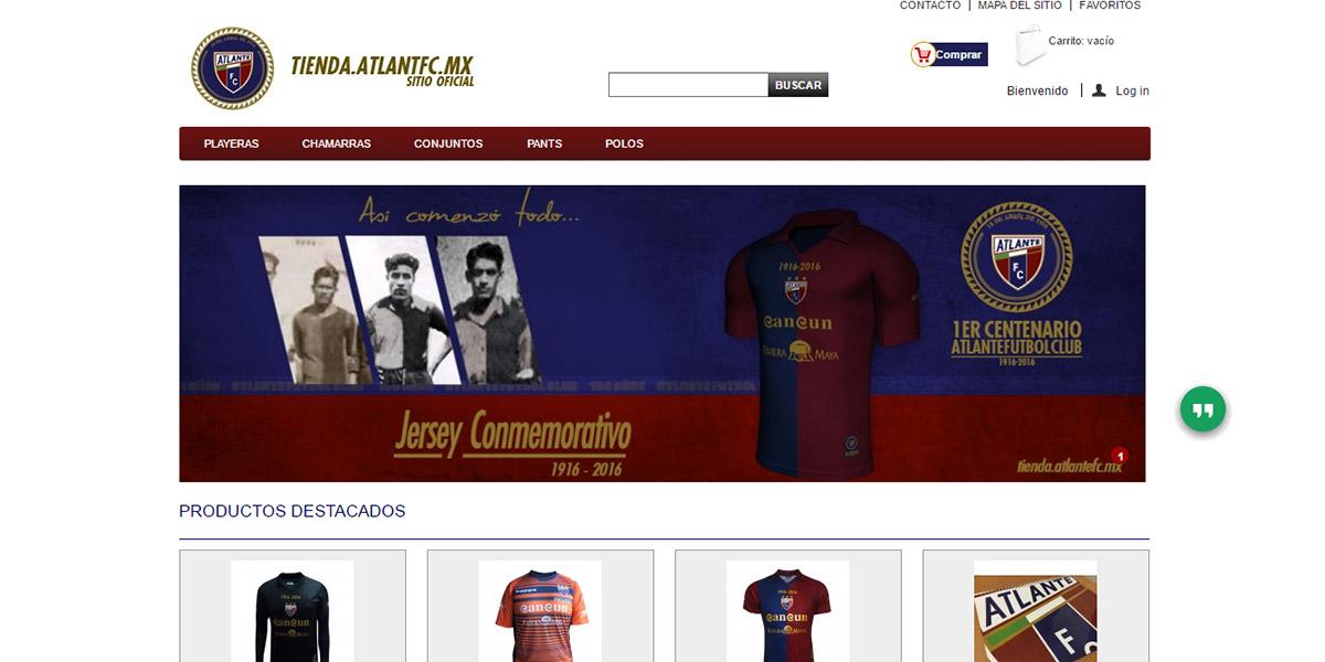 e8adc8c254c Tienda Atlante FC  opiniones y comentarios