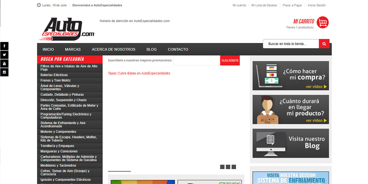 Autoespecialidades: opiniones y comentarios