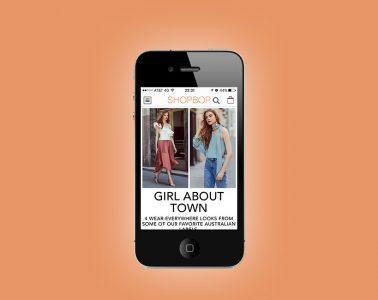 App Shopbop: opiniones y comentarios